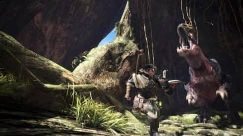 Новый геймплей Monster Hunter: World в разрешении 4K на PC