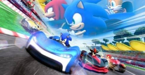 Sonic Racing Геймплей