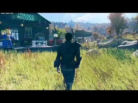 Fallout 76 — 10 Minutes of Gameplay
