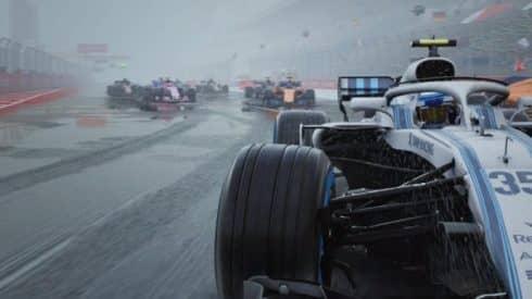 Новый геймплейный трейлер F1 2018