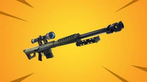 Тяжелая снайперская винтовка пожаловала в Fortnite: Battle Royale