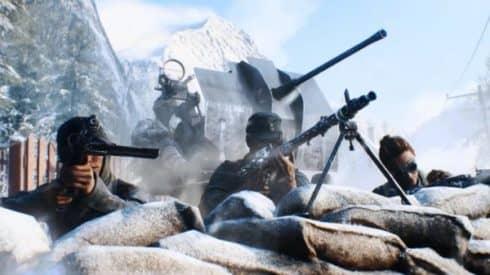 Первые кадры нового трейлера Battlefield V
